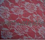 La qualité d'accessoires de vêtement Non-Étirent le textile de lacet de broderie de tissu de lacet
