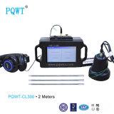 Pqwt-Cl300 detetor de escape ultra-sônico da água das tubulações do subterrâneo 2m
