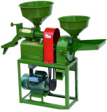 Mähdrescher-Reismühle-Poliermaschine mit Zerkleinerungsmaschine