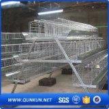 las aves de corral de 4layers 160chickens Egg la jaula de la capa con precio de fábrica