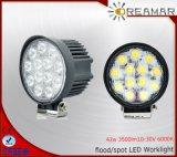 luces del trabajo de 42W 3500lm 12V Pi68 LED para el carro SUV 4X4