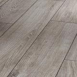 plancher de stratifié de bois dur ciré parCannelure du lustre HDF de 12mm Matt