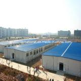 La costruzione prefabbricata chiara della struttura d'acciaio/ha prefabbricato il magazzino d'acciaio
