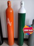 De naadloze Gasflessen van het Argon van het Staal 40 Liter