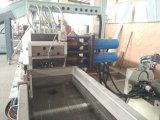 Linha plástica película da peletização de /PVDF que recicl o granulador