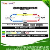 Diodo emissor de luz azul que adverte o diodo emissor de luz de Lightbar 3W