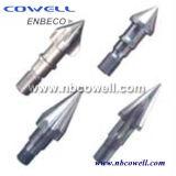 Schrauben-Spitzen für bimetallischen Schrauben-Zylinder