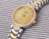 Belbi Fadhion Quarz-Handgelenk-analoge Uhr für Dame