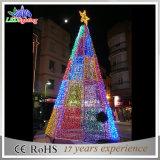 LED-bunte helle Hochzeits-Dekoration-im FreienWeihnachtsbaum