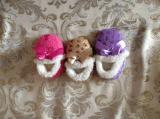 3つのカラー赤ん坊様式の屋内靴(RY-SL1647)