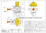 Geschmiedetes Stahl-halb automatisches Marinedrehschloß