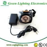 Li-Ion4.5ah batterie CREE LED Sicherheits-drahtlose Bergbau-Mützenlampe mit LCD-Bildschirmanzeige
