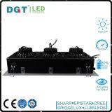Projector Recessed do diodo emissor de luz da cabeça de Ce/RoHS 3*30W teto triplo