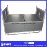 Industrial Metal de acero plegable y Facturación plegable caja de almacenaje de palets