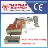 Wjm-2 짠것이 아닌 기계는, 자유로운 메우는 물건 생산 라인을 접착제로 붙인다