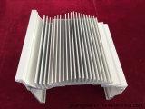 A alta qualidade 6063 T5 T6 expulsou perfil de alumínio revestido pó para o dissipador de calor
