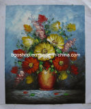 高いGlossy Polyester Oil Canvas (430g)