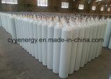 cilindro industrial de alta presión del hidrógeno del acero inconsútil 50L