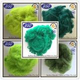 Umweltfreundliche Baumwollgarn-Gebrauch-Polyester-Spinnfaser PSF