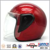 販売の半分の表面オートバイのヘルメット(OP213)で熱い