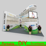 Cosmetic Display Exposition standard Custom Made Portable Modular Booth Support