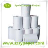 Papel termal superventas de la base de papel plástica