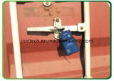 Dispositivo da selagem do recipiente do GPS para a monitoração do recipiente com travamento e destravagem da função do alarme