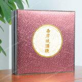 Torta de luna elegante que embala la caja de regalo de papel promocional