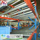 Crémaillère en acier de flux de carton pour l'entrepôt