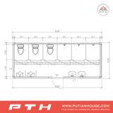 Norm-China-vorfabrizierter modularer Toiletten-Behälter mit kundenspezifischer Größe
