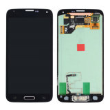 Home Flex Assembly G900h G900mのSamsung Galaxy S5のためのLCD表示Touch Screen Digitizer
