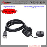 IP67 USB Data Cable/USB Cable mit Protective Sleeve für Audio Equipment
