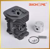 Kolben-und Zylinder-Installationssätze für Kette sahen Ersatzteile (Schwarzes HS137/HS142)