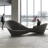 現代デザイン家具の庭の家具の庭の愚劣のベンチ