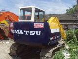 6ton/-5.5kw/H Used Japão KOMATSU PC60 Crawler/Hydraulic Excavator com Isuzu-Engine