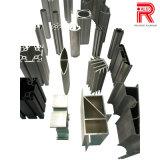 Profil sans visibilité en aluminium/en aluminium de roulement d'extrusion pour le rideau et l'auvent borgnes