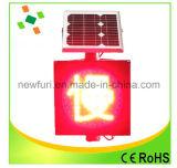 Solar-LED Verkehrs-Warnleuchte der Qualitäts-