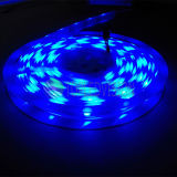 Tira 60LEDs/M do diodo emissor de luz da alta qualidade SMD5050 RGB, 12V, C.C. 24V