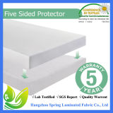 Melhor Vendedor Queen Size Terry Cloth Waterproof Mattress Protector, 10 Years Warranty