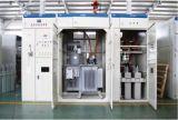 La triphasée Subestacion de transformateur de 13.8kv 800kVA