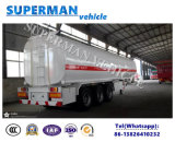 36000 Liter des Kohlenstoffstahl-3 Wellen-Kraftstoff-Tanker-halb Schlussteil-Öltanker-