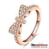 De leuke Ring van de Gift van Zircon Bowknot van Meisjes (cri0143-B)