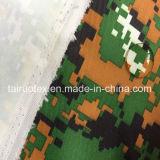 Taslon impresso camuflar com o branco revestido para o uniforme militar