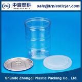 Sell chaud 550ml Plastic Mason Jar