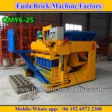 Automatische hydraulische konkrete bewegliche mobile Ziegelstein-Maschine der grossen Kapazitäts-Qtm6-25