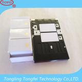 Bandeja de cartão em branco da impressão do PVC de Cr80 Inkejt para a impressora de Canon G