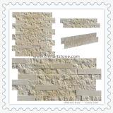 Rivestimento di marmo della parete di pietra della coltura del Sahara per la villa