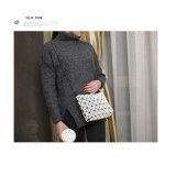 Weiße Form-Japan-faltende Handtaschen-Geometrie-rhombische Schulter-Beutel (A060-1)