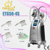 Weight Loss를 위한 Etg50-4s 4 Handpieces Cryolipolysis Fat Freezing Beauty Machine