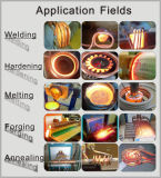 Fusione dei metalli tramite induzione elettromagnetica 50kw che fonde Furnance